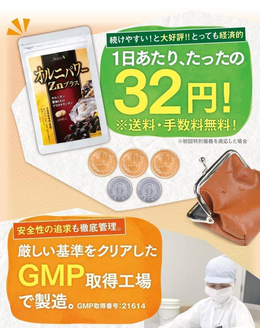 1日あたり32円